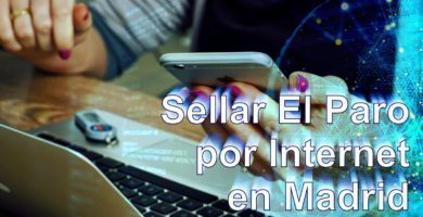 sellar paro online madrid
