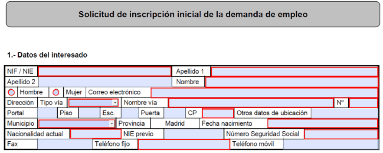solicitar tarjeta demanda de empleo por internet andalucia