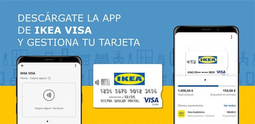 descargar app ikea visa